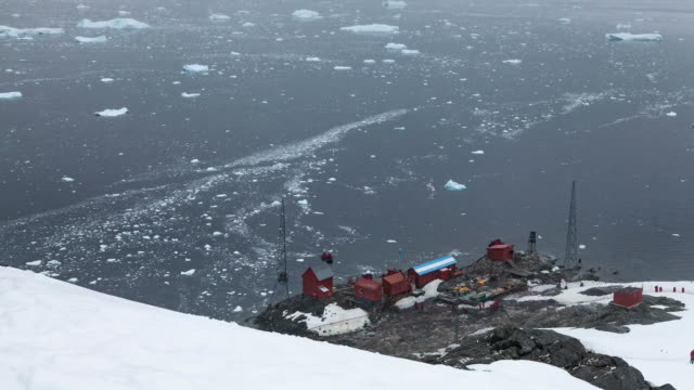 researchers studying warming - antarctica scientist stock videos & royalty-free footage