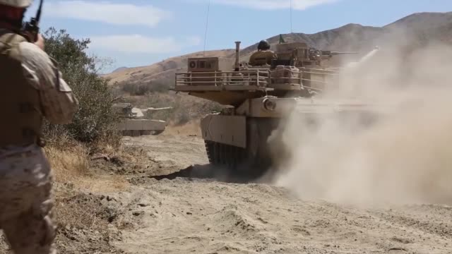 reserve marines from 4th tank battalion 4th marine division conducting annual training on camp pendleton calif for fiscal year 2014 training included... - hovercraft stock videos & royalty-free footage