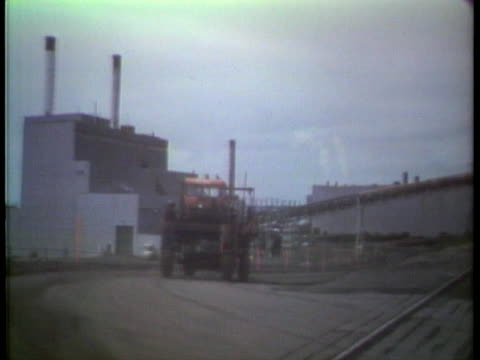 reserve mining company produces iron ore in minnesota, but also has been charged with polluting lake superior after asbestos was found in minnesota... - asbestos stock videos & royalty-free footage