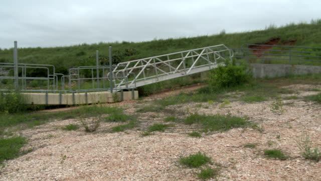 Reservoir in drought, Texas