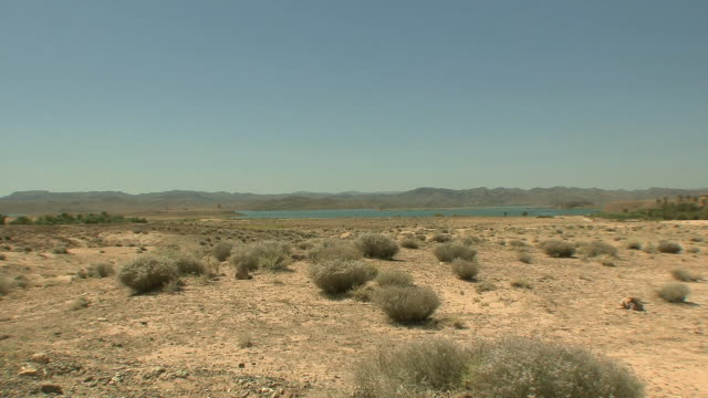 ws reservoir of mansur eddahbi dam, taourirt, morocco - arid climate stock videos and b-roll footage
