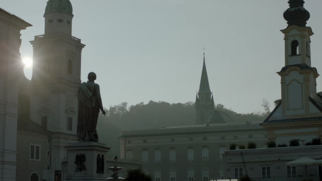residence place salzburg - animal representation stock videos & royalty-free footage
