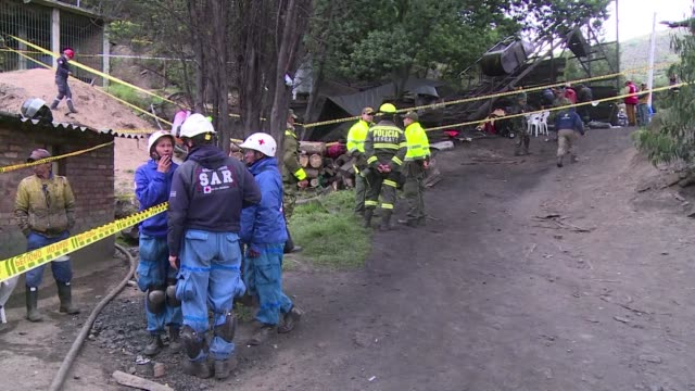 A resident of Cucunuba where an explosion at an illegal coal mine has left at least eight Colombian miners dead says the blast shook the houses while...