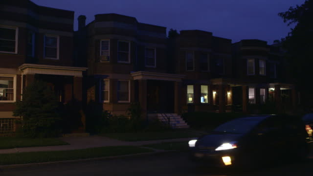 ws residential apartments night - day and night image series stock videos & royalty-free footage
