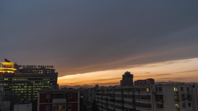 T/L WS HA TD woonwijk, van dag tot nacht / Beijing, China