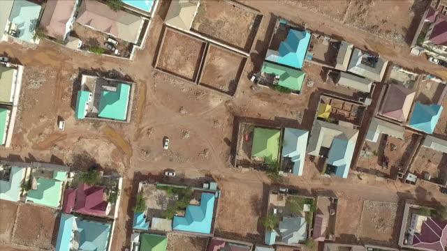 residential area in somalia - somalia stock videos & royalty-free footage