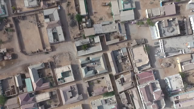 residential area in somalia - horn of africa stock videos & royalty-free footage
