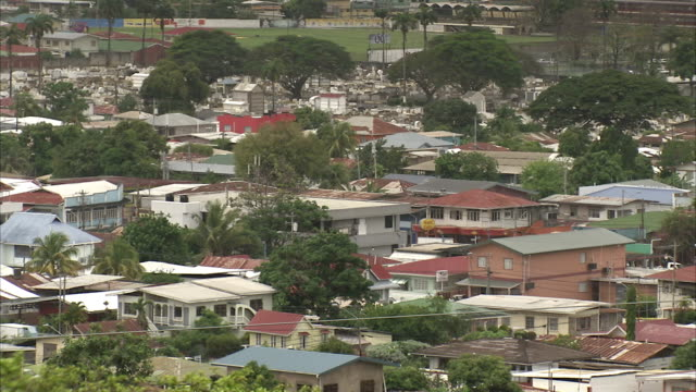 a residential area of port of spain, trinidad and tobago. available in hd. - trinidad trinidad and tobago stock videos & royalty-free footage