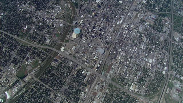 residential areas surround wichita, kansas. - wichita stock videos & royalty-free footage