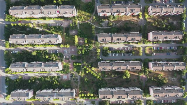 residential buildings in suburbs - liyao xie stock videos & royalty-free footage