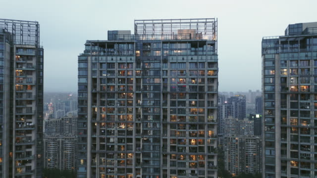residential buildings - liyao xie stock videos & royalty-free footage