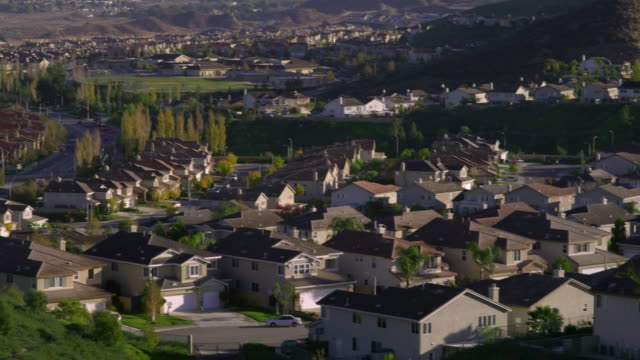 ws ha pan residential district, palmdale, california, usa - palmdale stock videos and b-roll footage
