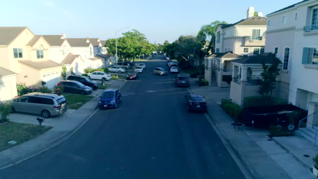 residential district - suburban stock videos & royalty-free footage