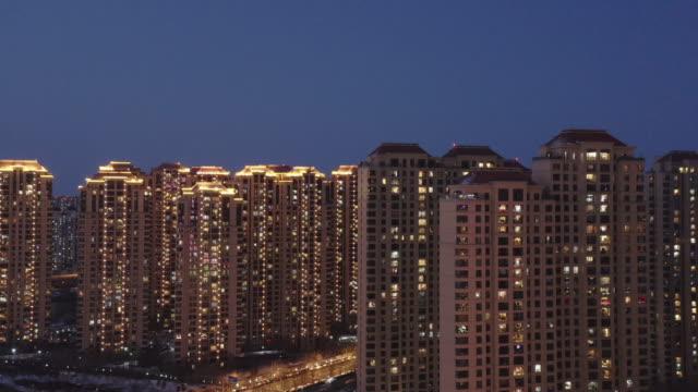 住宅街 - 不動産の看板点の映像素材/bロール