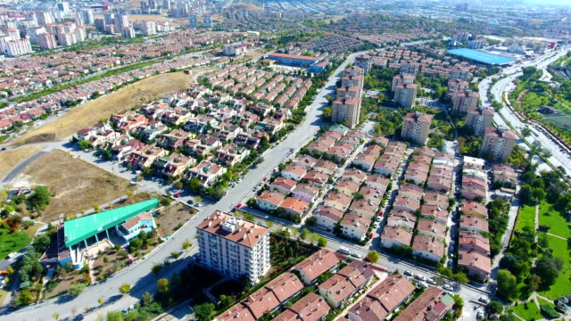 Residential district view of Ankara