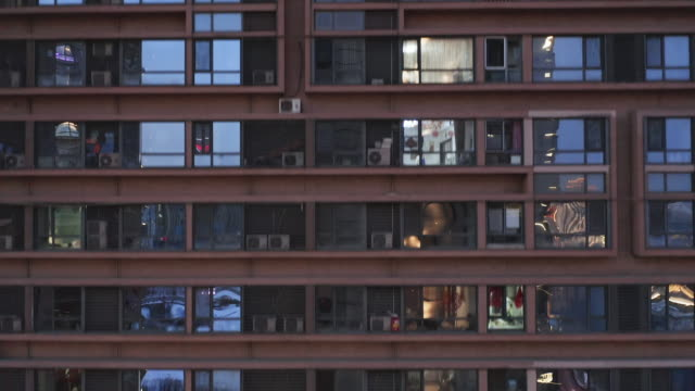 residential facade - facciata video stock e b–roll