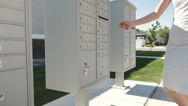 residential mailbox - mailbox stock videos and b-roll footage