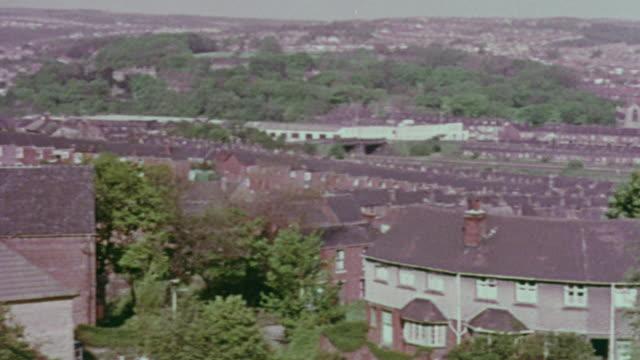 1967 PAN Residential neighborhood / Handsworth, West Midlands, England