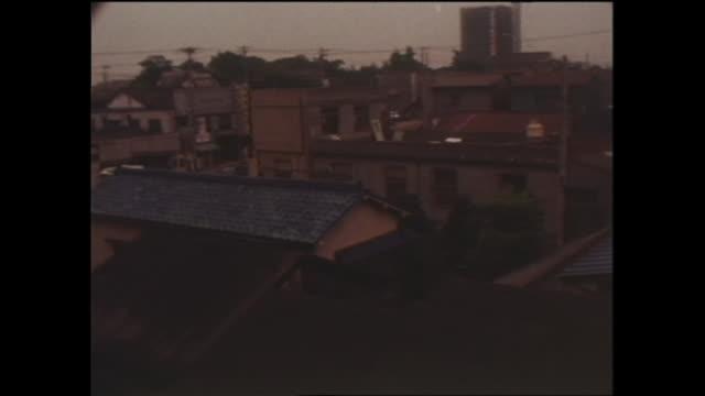 1969 residential neighborhood in kanagawa,japan - showa period stock videos & royalty-free footage