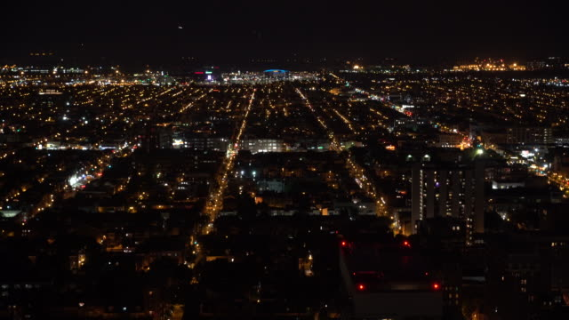 residential philadelphia at night - center city philadelphia stock videos and b-roll footage