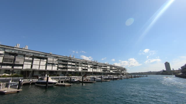 residential pier building in sydney - flat stock videos and b-roll footage