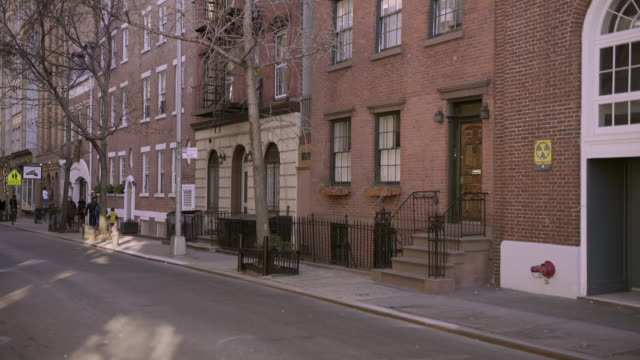 Residential Street in the West Village