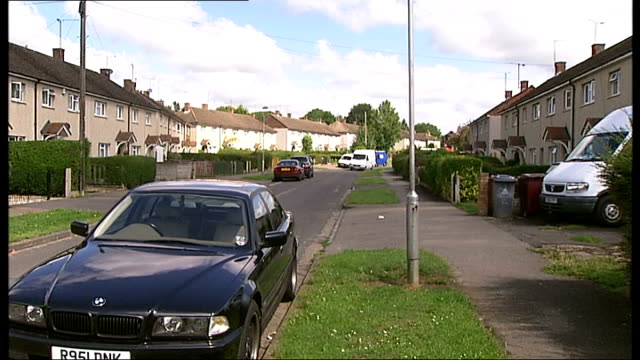 residents complain about rat infestation following death of elderly woman car parked in residential area byefield road street sign - infestation stock videos & royalty-free footage