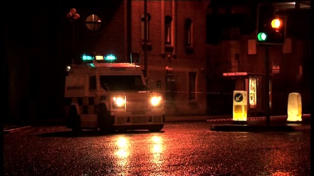 Residents in Londonderry City Centre were evacuated on the evening of Thursday 19th January after two bombs exploded close to a tourist office...