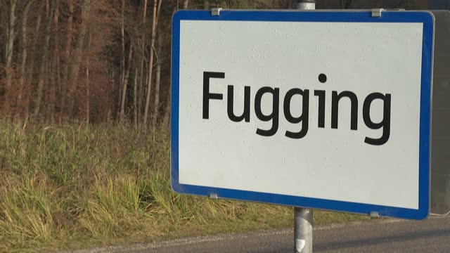 residents of an austrian village will ring in the new year under a new name -- fugging -- after ridicule of their signposts, especially on social... - traditionally austrian stock videos & royalty-free footage