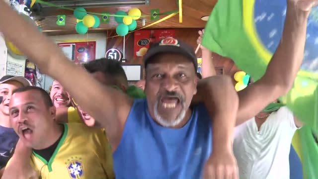 residents of jardim peri a poor neighbourhood of sao paulo and home of gabriel jesus brazil's number 9 at football's main event watch with great... - number 9 stock videos & royalty-free footage