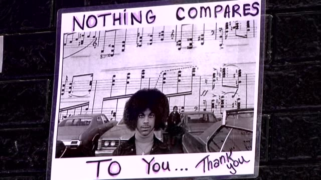 residents of minneapolis recall growing up with prince and his affection for his childhood homes in the artists hometown after his sudden death... - hometown stock videos and b-roll footage