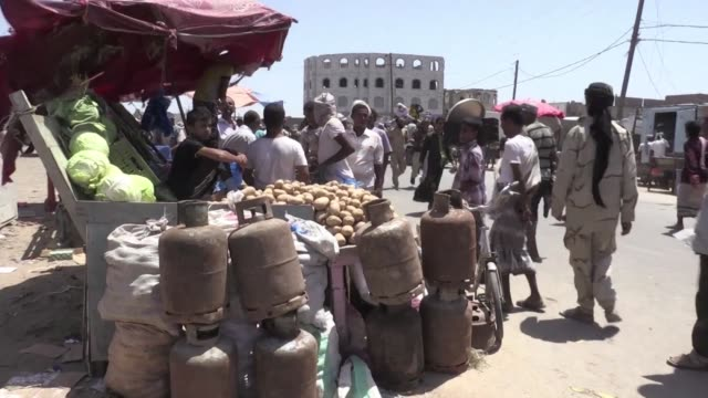 residents of mokha are resuming daily life after the historic yemeni port was captured by government forces on february 10 as part of a major... - kilometre stock videos & royalty-free footage