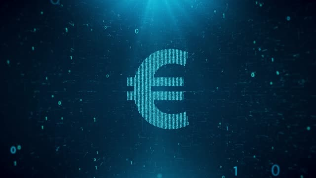 4k resolution economy and finance background (euro) - dollar symbol stock videos & royalty-free footage