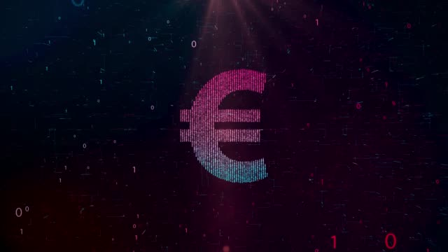 vidéos et rushes de 4k résolution économie et finance contexte (euro) - soldes