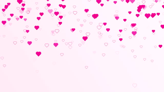 4 k の解像度 - 幸せなバレンタインデー backgorund(loopable) - 動画関連点の映像素材/bロール
