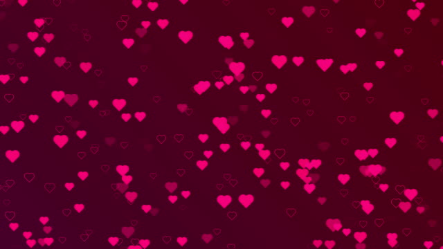 4k resolution - happy valentine's day backgorund(loopable) - faded condition stock videos & royalty-free footage