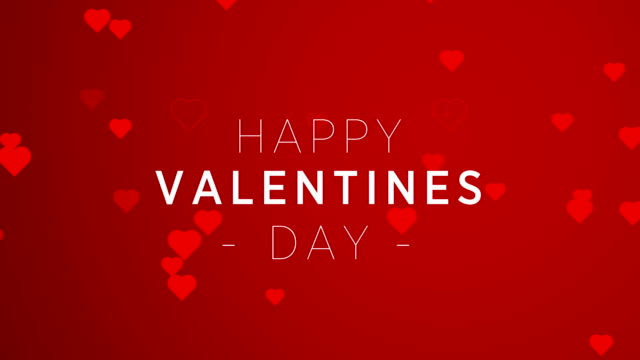 4k resolution, hearts - valentine's concept - valentine's day stock videos & royalty-free footage