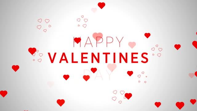 4 k 解像度、心 - バレンタインのコンセプト - バレンタインデー点の映像素材/bロール