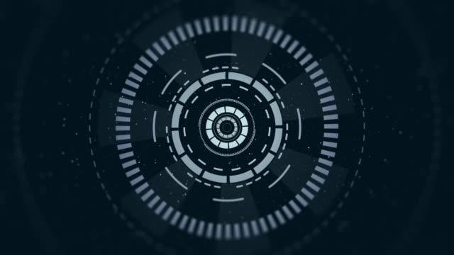 vídeos y material grabado en eventos de stock de resolución 4k-elementos hud-tecnología - pieza de máquina
