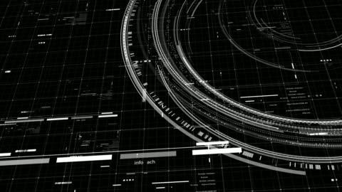vídeos y material grabado en eventos de stock de resolución 4k - elementos de comunicación futurista hud - holograma