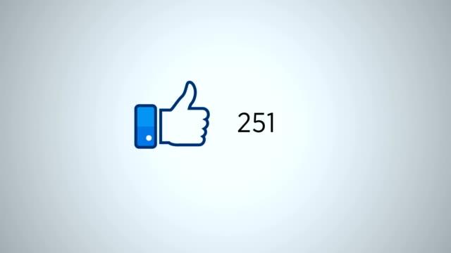 vidéos et rushes de 4 k résolution médias sociaux comme animation - émoticon