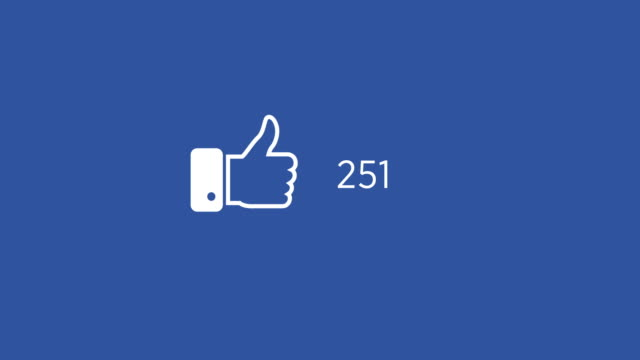 4k resolution social media like animation - adulation stock videos & royalty-free footage
