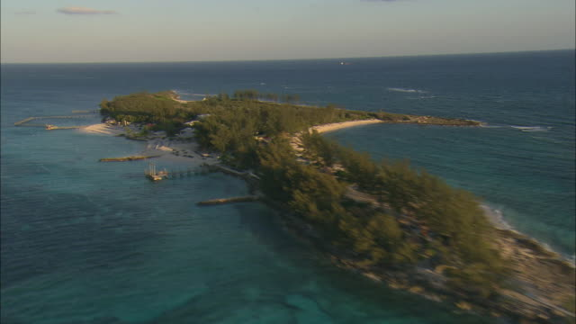 AERIAL resort 'day-trip' island off Nassau, Bahamas