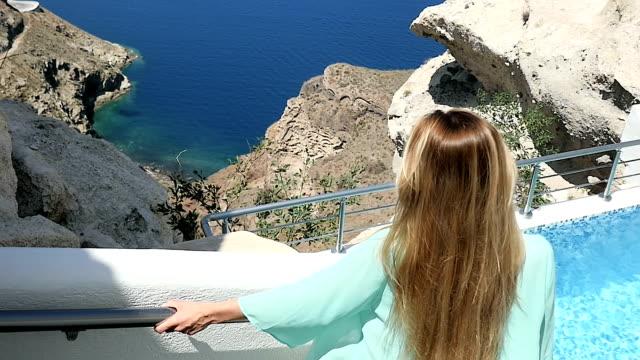 resort exploration & happiness - holiday villa stock videos & royalty-free footage