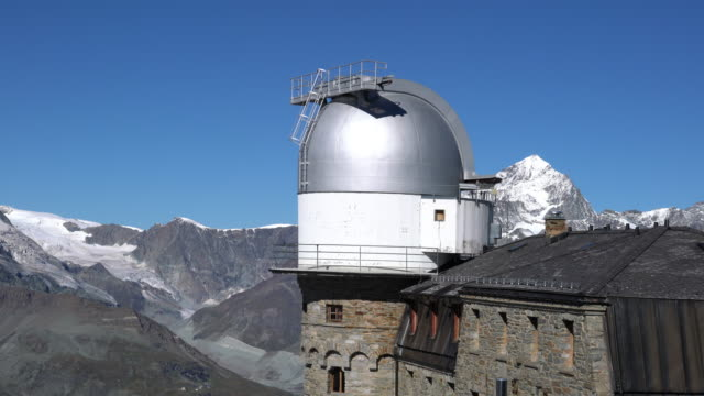 Restaurant and observatory on the Alps, in the Matterhorn region.