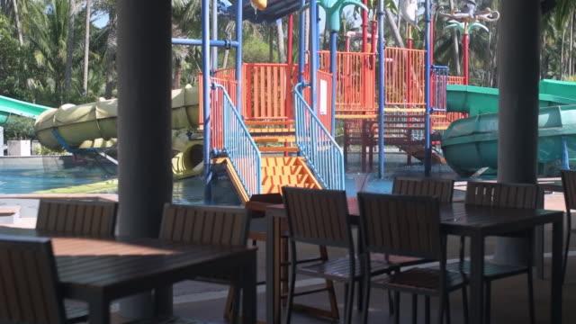 Restaurant at water park