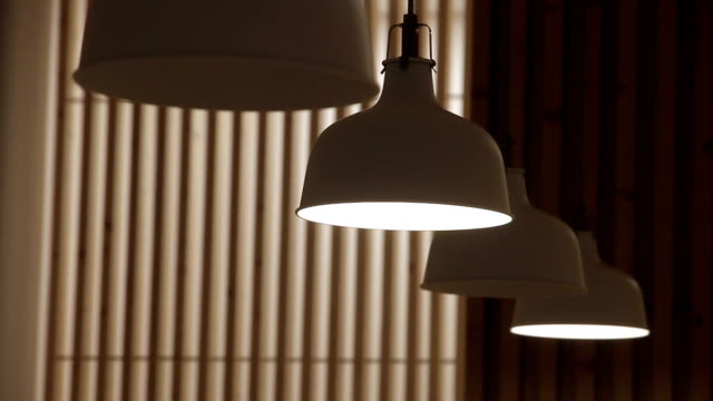 restaurant food - lamp shade stock videos and b-roll footage