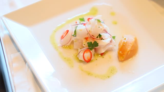 restaurant food - dining stock videos and b-roll footage