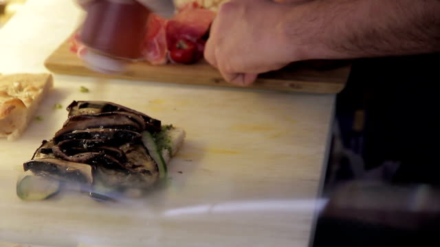 restaurant food - shiso stock videos & royalty-free footage