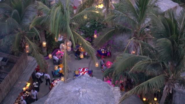 a restaurant in cabo san lucas, mexico. - cabo san lucas stock videos & royalty-free footage